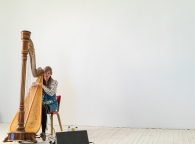 Mary performing
