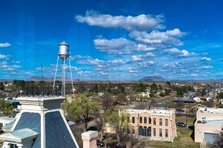 View from Courthouse tower
